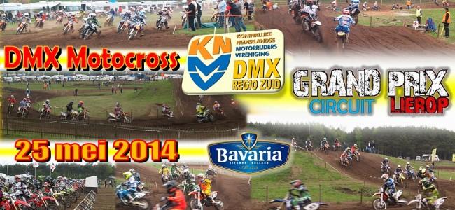 MAC Lierop houdt DMX motorcross op 25 mei 2014