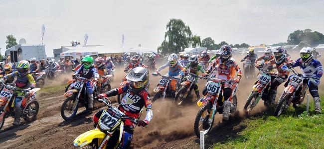Moeilijk weekend voor de Belgische jeugd op het harde Lugau circuit