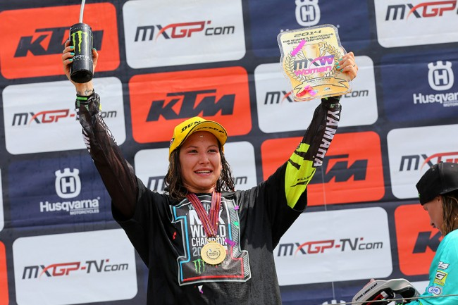 WMX: Chiara Fontanesi pakt derde World Champion WMX titel!