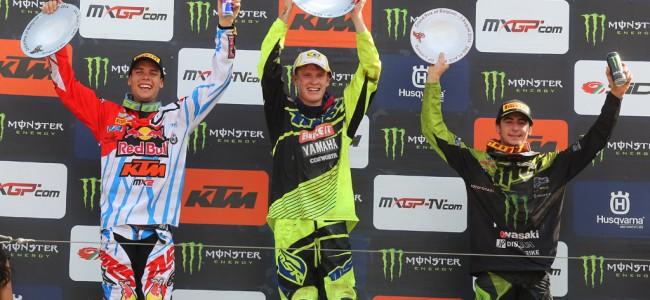 Max Anstie wint GP van België MX2