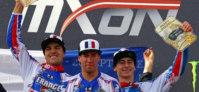 "Frankrijk wint de ""Motocross of Nations"" !!!"