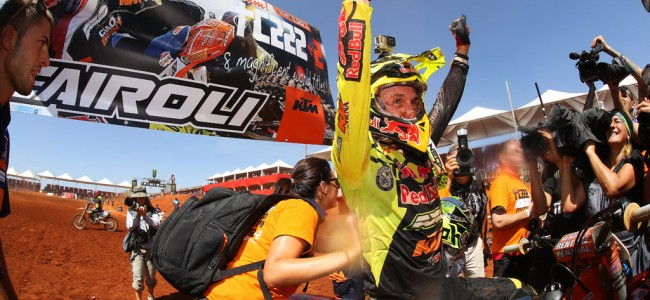 Achtste wereldtitel voor Antonio Cairoli