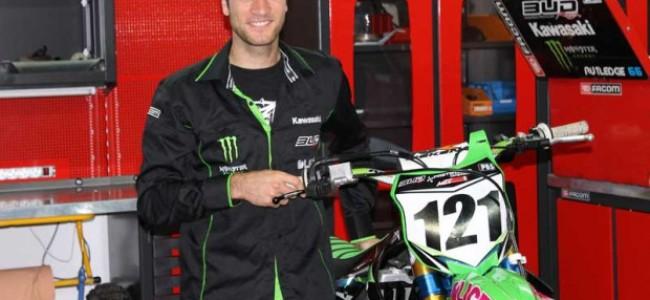 Boog met Bud Racing in Frans MX & SX kampioenschap