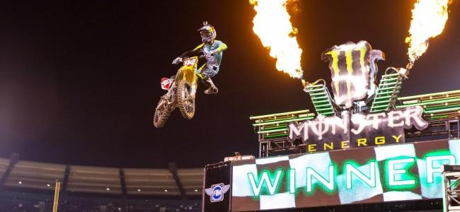 Ken Roczen en Cooper Webb winnen Anaheim II