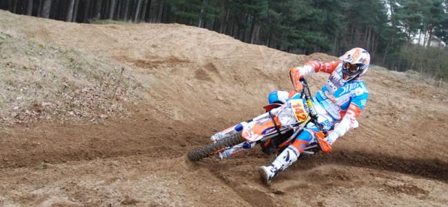Mathias Van Hoof bevestigt progressie