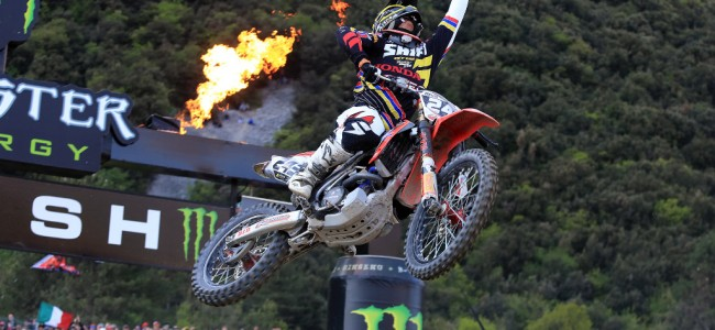 Tim Gajser wint MX2 GP in Trentino