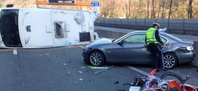 Zwaar verkeersongeluk voor Nolan Cordens