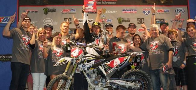 Video: Kyle Regal kroont zich tot Arenacross kampioen