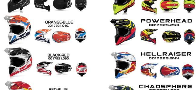 ACERBIS PROFILE 2016 helmen leverbaar
