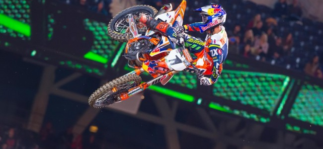 Ryan Dungey wint Supercross in San Diego
