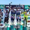 Sidecarteam Bax pakt eerste podiumplaats van het seizoen in het Swiss Open