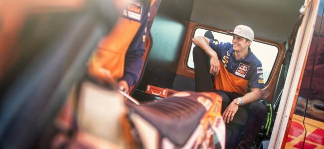 Jonny Walker verkent parcours RBKO!