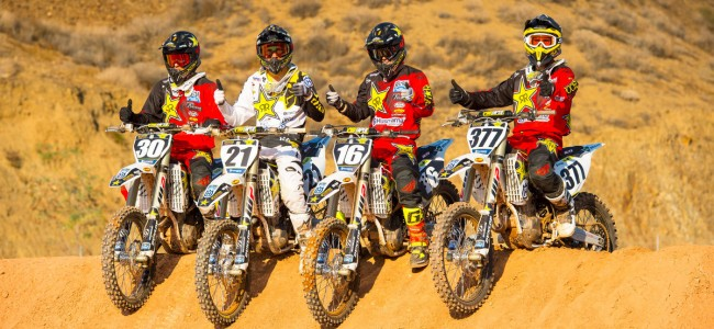 Team Shooting : Rockstar Energy Husqvarna Factory Racing Team