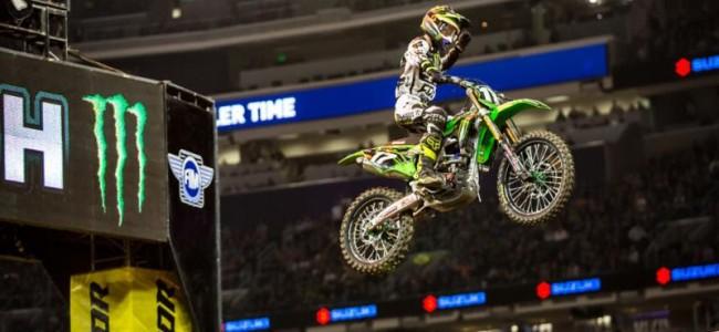 VIDEO: hoogtepunten SX Minneapolis
