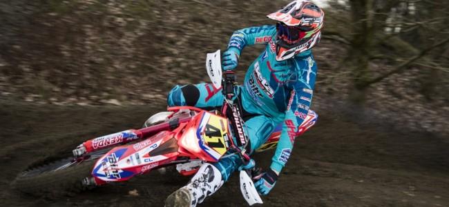 PR: Mathias Van Hoof mist start BK enduro
