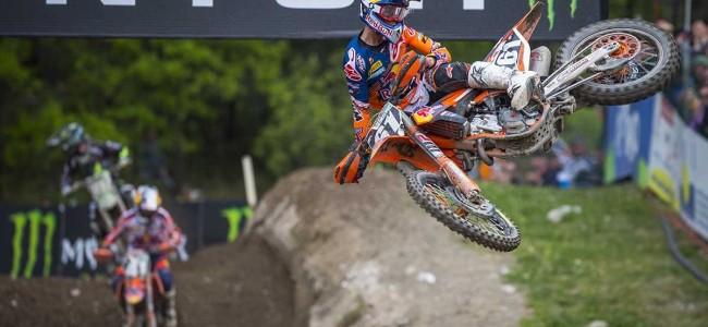 Jorge Garcia Prado wint de MX2 in Trentino