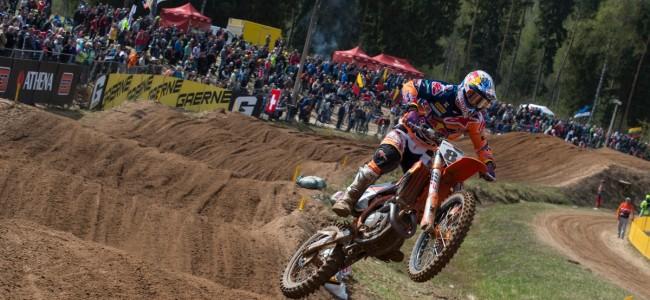 VIDEO: MXGP & MX2 hoogtepunten van Letland