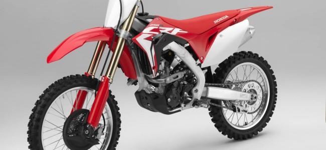 HOT: Honda stelt revolutionaire CRF250R voor!!!