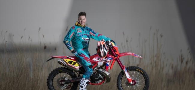 Mathias Van Hoof eindelijk terug op de motor!