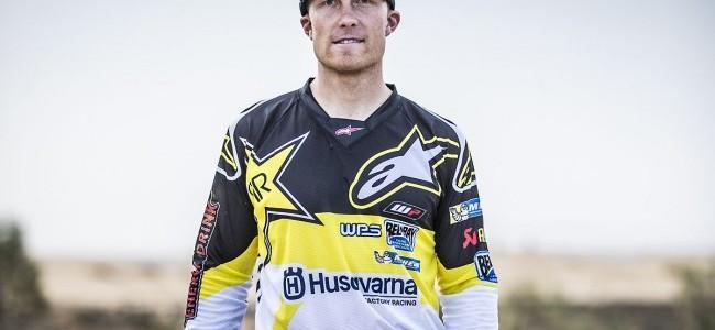 Andrew Short maakt comeback met het Husqvarna Rally Team