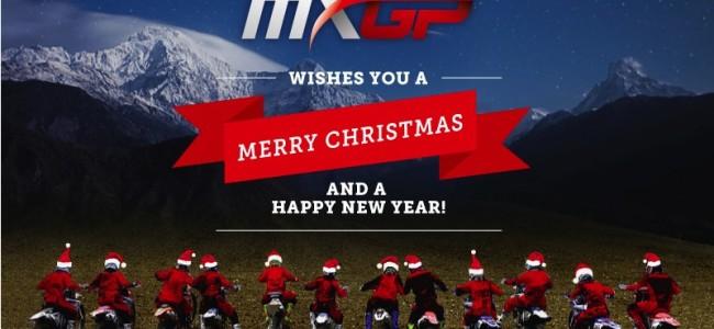 Zalig MXMAS en gelukkig nieuwjaar van MXGP!