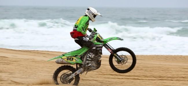 Axel Van de Sande leidt Franse strandraces voor Jeffrey Dewulf!