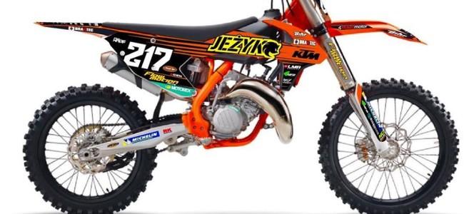 EMX: Jezyk Racing zet een kwartet in tijdens EMX125.