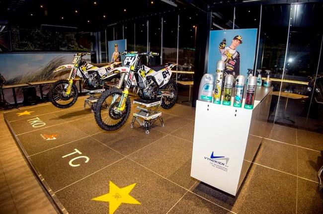 Teamvoorstelling Rockstar Energy Husqvarna Factory Racing