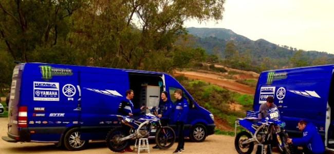 Vernieuwd Kemea Yamaha start dit weekend in Riola Sardo!