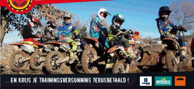MX Junior days in Lille met Joël Smets op 19 juli