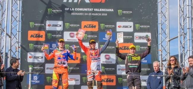 MXGP: Cairoli wint zijn eerste GP van het seizoen in Redsand!