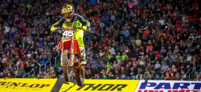 SX: Austin Forkner wint zonder te winnen.
