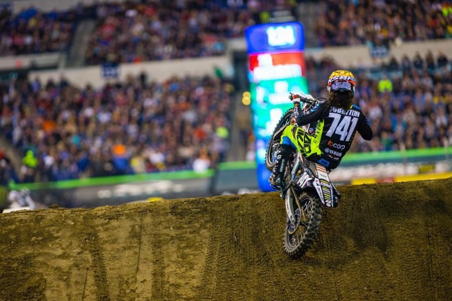 VIDEO: Blake Wharton in Racetrack Supercross