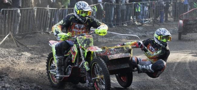 Brown/Millard winnen verrassend de eerste ONK Sidecar Masters 2018!