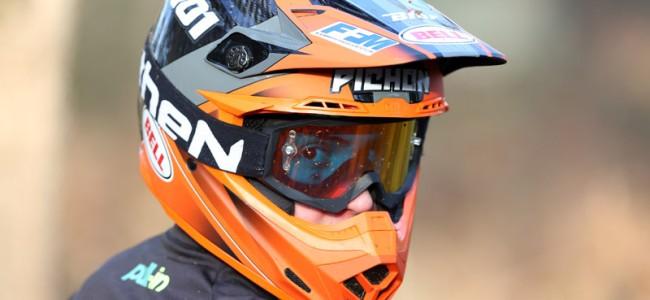 MX2: Zach Pichon mist GP in Valkenswaard.