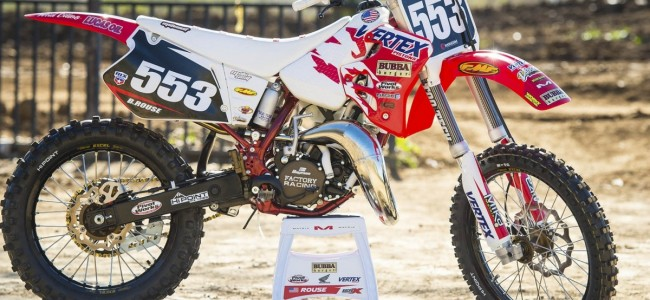 VIDEO: One of the best looking CR125 there is