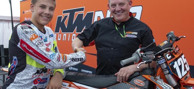 Emil Weckman verlengt met KTM Diga Junior Racing