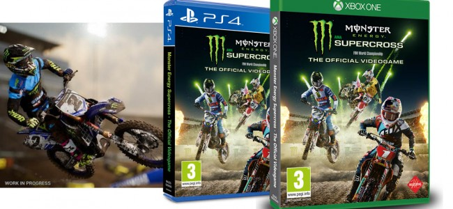 Win de Monster Energy Supercross Videogame!