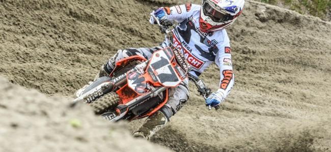 FOTO: BK Motorcross Axel door Nico