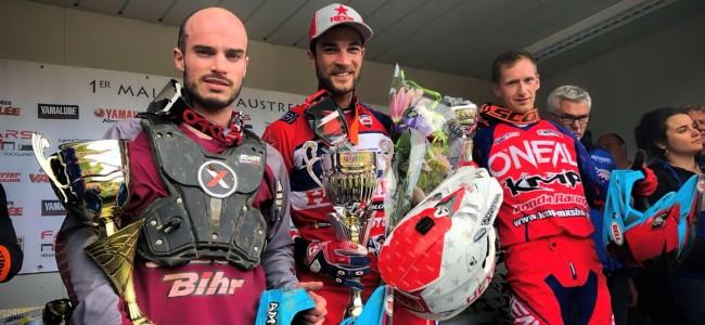 Xavier Boog wint Austreberthe, Delincé en Fors derde en vierde