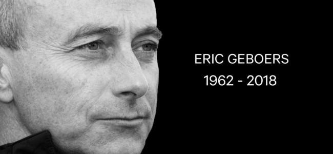 Column; In memorian Eric Geboers