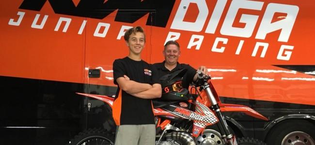James Scott tekent voor KTM Diga Junior Racing