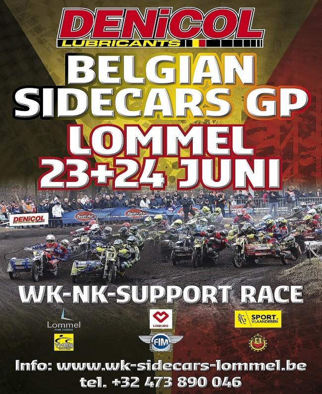 Preview Denicol Belgian Sidecars GP: Grote kans op succes voor onze landgenoten in Lommel!
