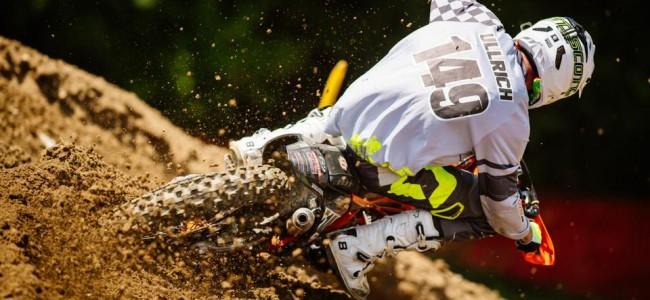Ullrich wint de eerste EMX300 wedstrijd in Loket.