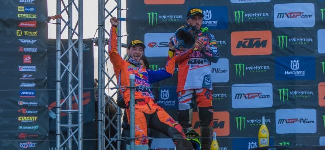 Motocross der Azen mikt op MXGP op De Bergen in 2020.