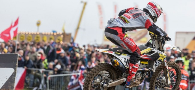 Denemarken reist niet naar de Motocross of Nations.
