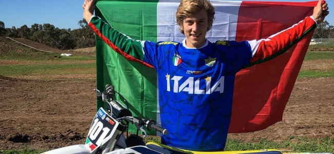 Guadagnini pakt 125cc pole Junior WK, Dankers vijfde!