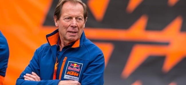 Roger DeCoster neemt afscheid als KTM teambaas.