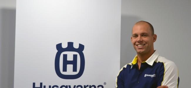 Veerbeek de nieuwe Brand Manager bij Husqvarna NL.