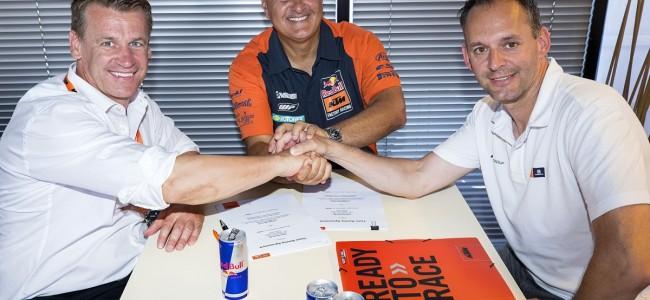 DeCarli Racing en KTM verlengen hun samenwerking.